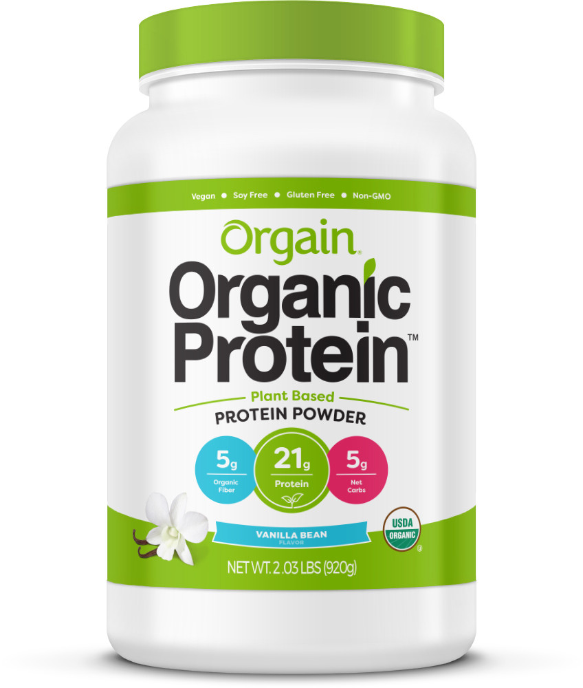 Orgain Vanilla Bean Protein is what i'm currently using! If you're interested in this specific protein click here for this protein located in our amazon shop in the supplement section.