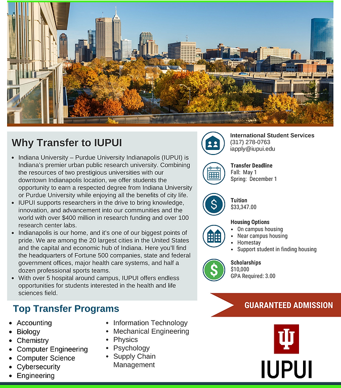 Indiana University Purdue University Ind
