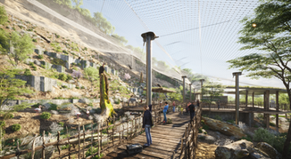 Condor Aviary / Native Chilean Metropolitan Ecopark