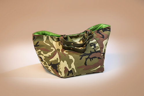 Pinkoco BAG camouflage green