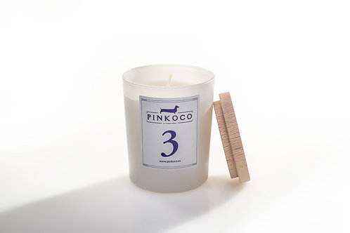 SCENTED CANDLE №3-wood
