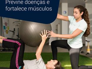Fisioterapia pélvica previne doenças e fortalece músculos