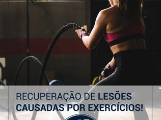 Recuperação de lesões causadas por exercícios