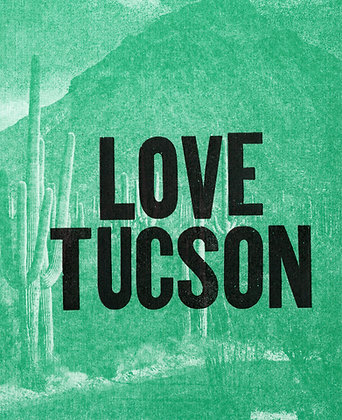 Love Tucson Greeting Card
