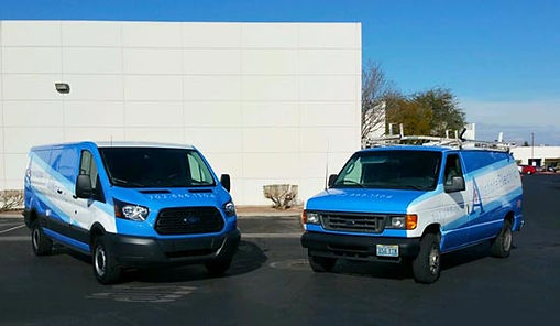 Allstate Electric Service Vans