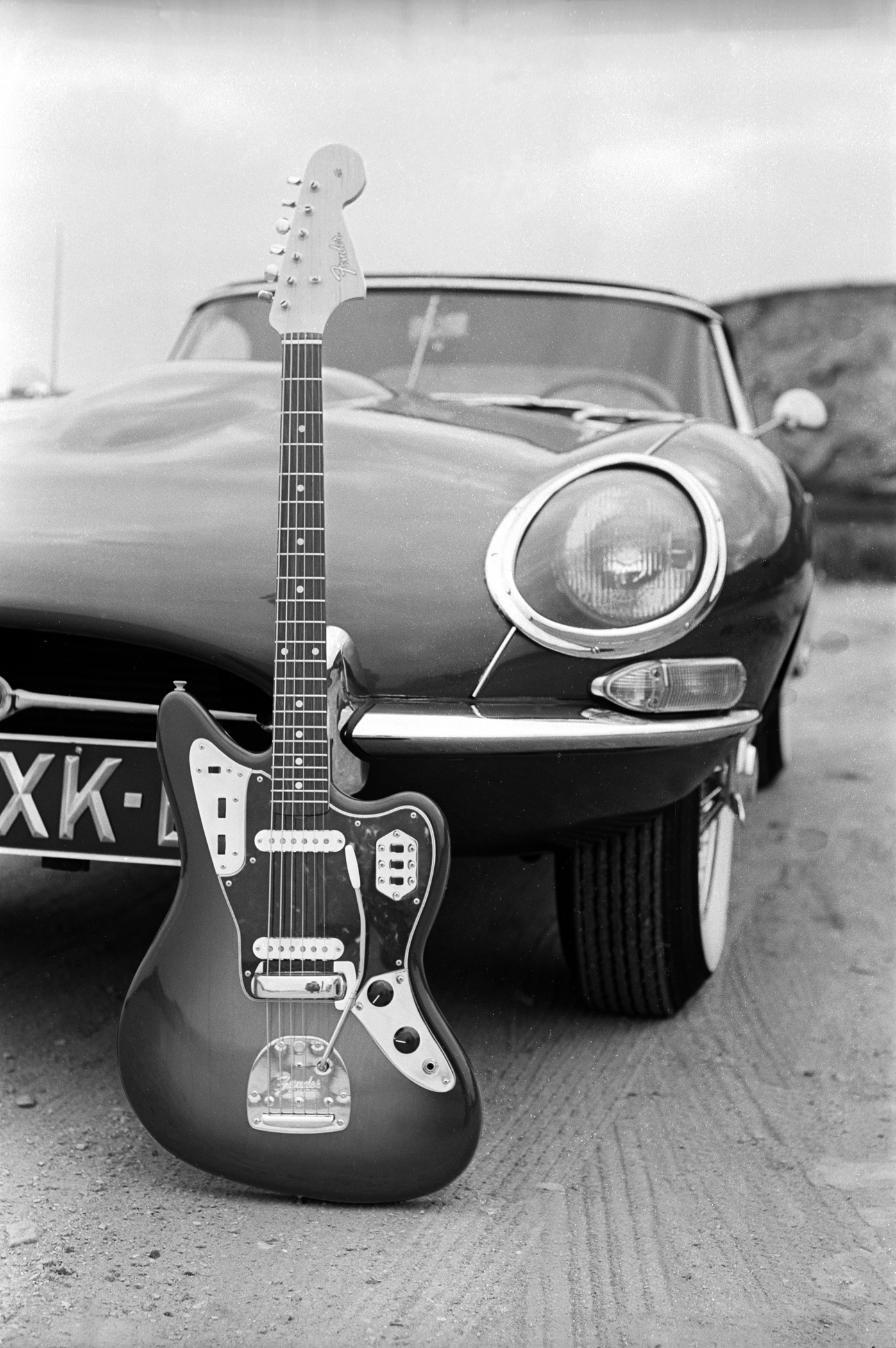 Fender 1962 Jaguar Ad Shoot