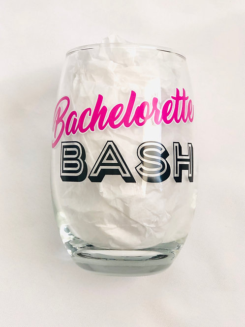 Bachelorette Bash Drinking Glasses
