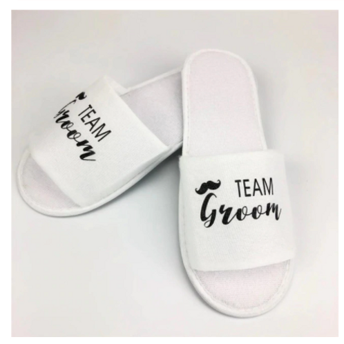 Groom or Team Groom Slippers