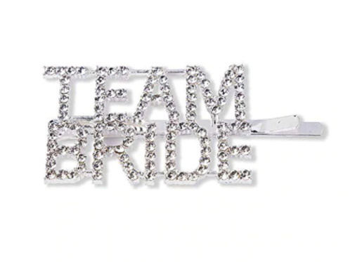 Team Bride Hair Pin