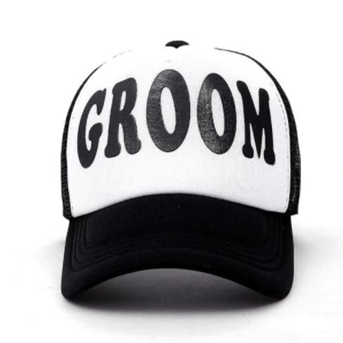 Groom Snap Back Cap