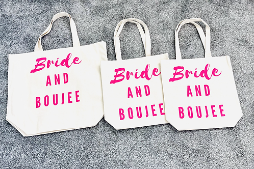 Bride And Boujee Tote