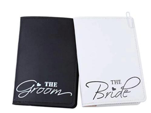 Bride or Groom Passport Case