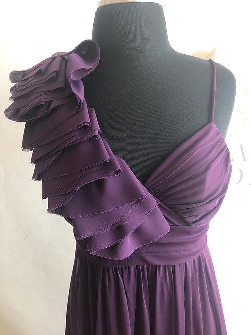Vintage Purple Bridal Dress