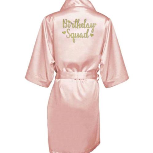 Birthday Squad Robe