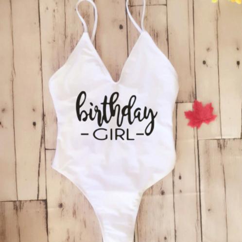 Birthday Girl Bathing Suit