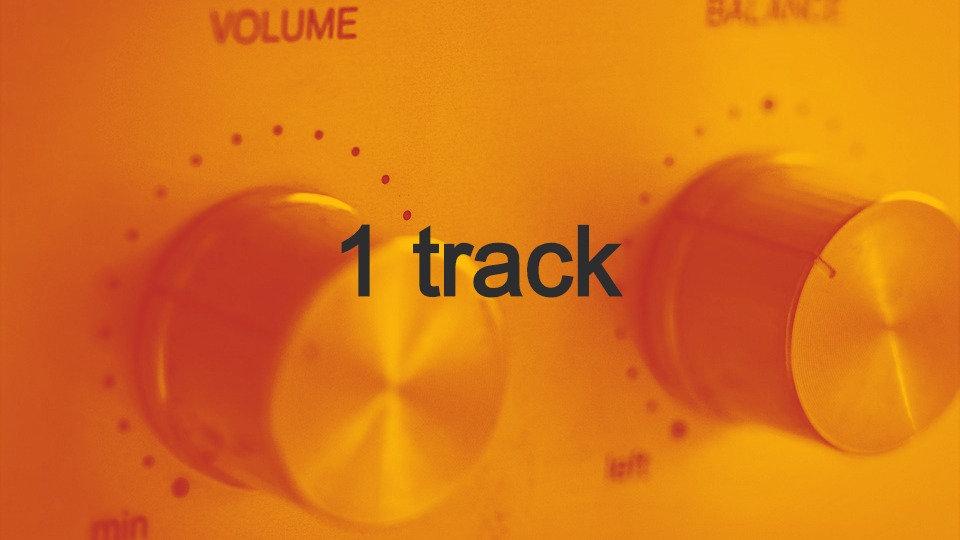 Mastering 1 track