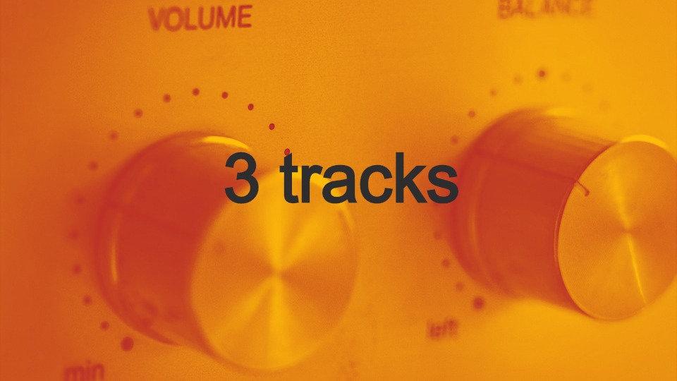 Mastering 3 tracks
