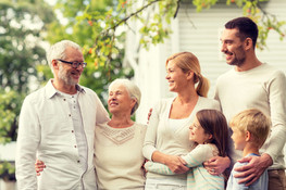 Mehrgenerationen Familien Bild