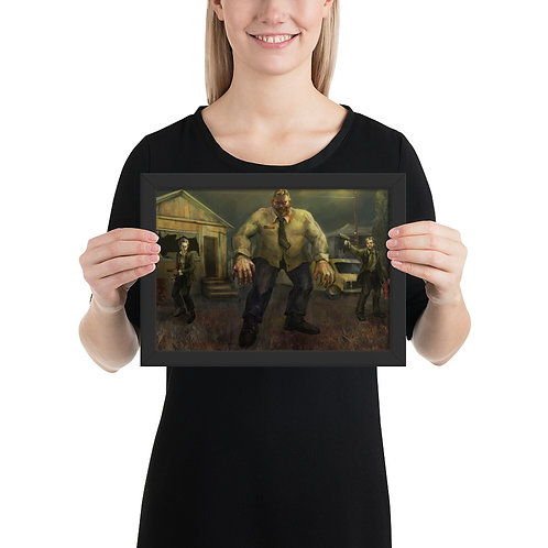 Chris Walker from Outlast Framed matte paper poster