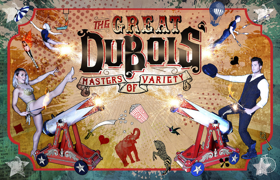 The Great DuBois'   Cannon Poster