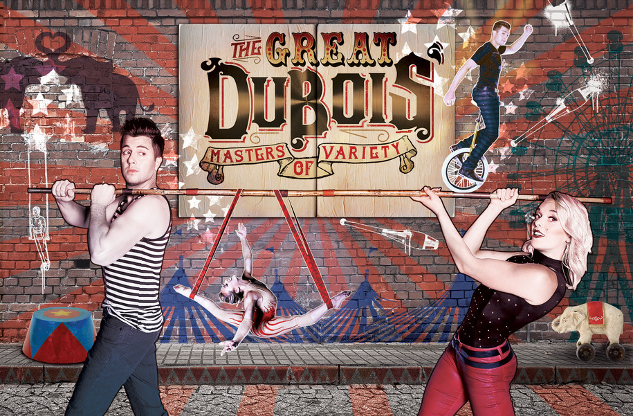 The Great DuBois'   Pole Poster