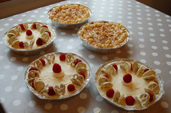 cheesecake and banoffee pic workshop