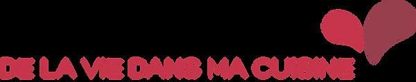Logo De La Vie Dans Ma Cuisine 1 ligne D