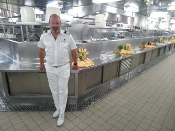 A one to one with Oliver Neuburger - F&B Director Princess Cruises