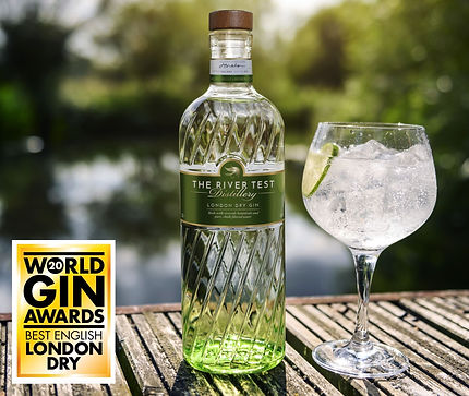 Award Winning Gin - The River Test Distillery
