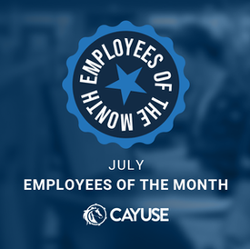 July Employees of the Month