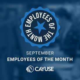 September Employees of the Month