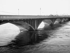 Yakima River at Flood Stage 1933