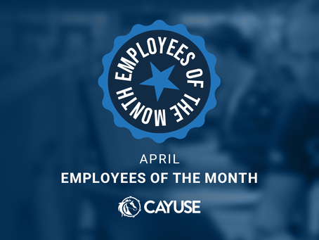 April Employees of the Month