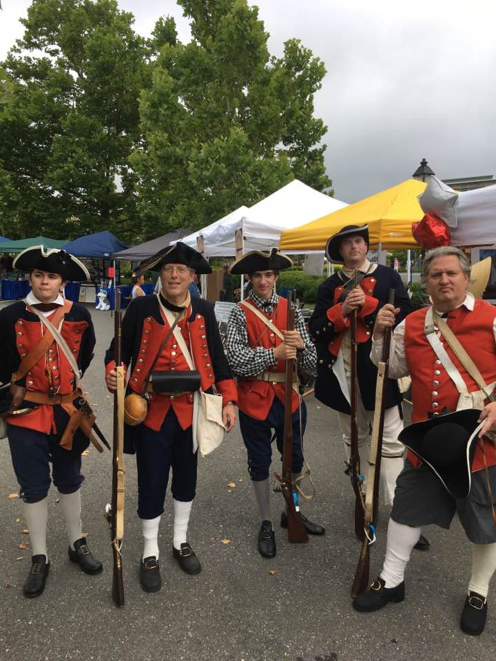 Picture taken at 275th Anniversary of Fairfax VA