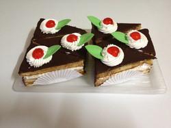 Triangulo de chocolate.