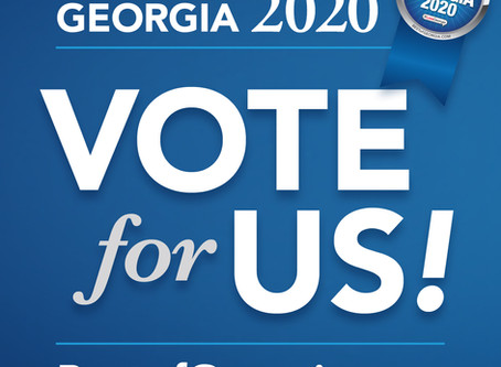 We are proud to announce our nomination for GBJ's #BESTofGEORGIA for 2020
