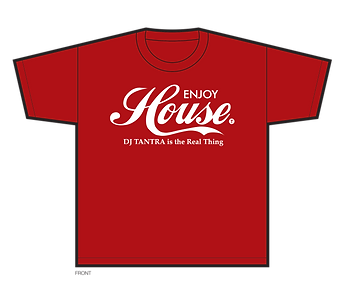 DJT House Real Thing Red Tee Shirt.png