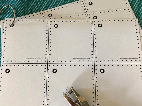 BQ Flip Card set (blank)