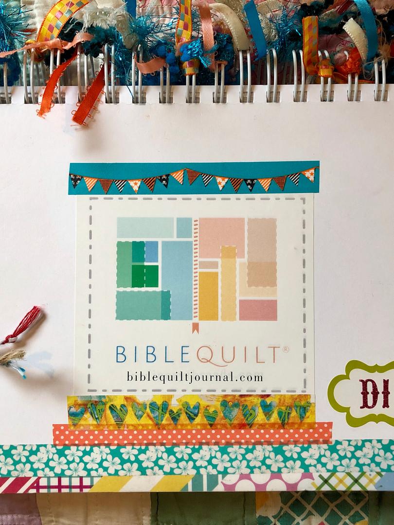 Di's Bible Quilt journal