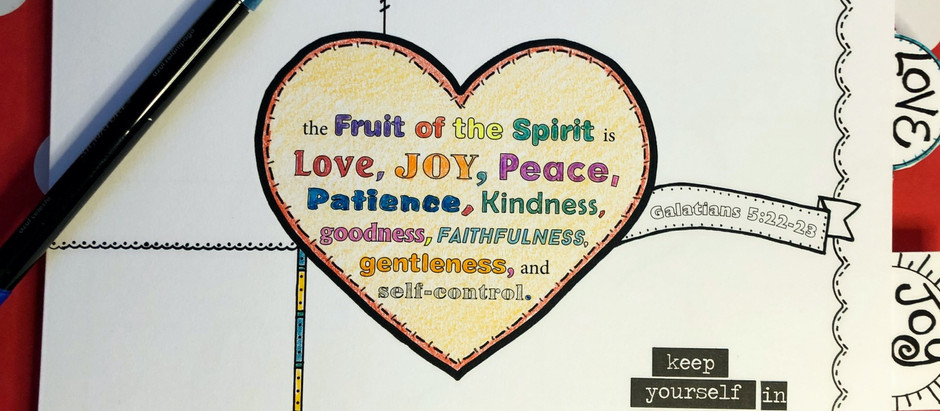 Reflecting the Fruit of the Spirit