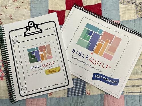 BQ Notes & Calendar Combo