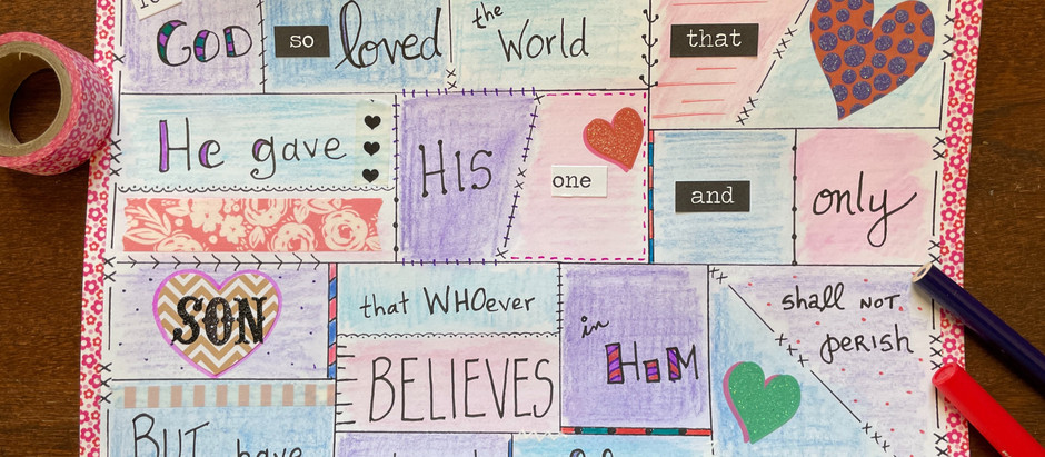 How to Bible Quilt® a Single Verse