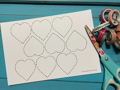 Heart Chain template