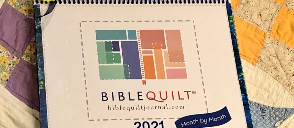 Prepping your 2021 Monthly Bible Quilt® Journal