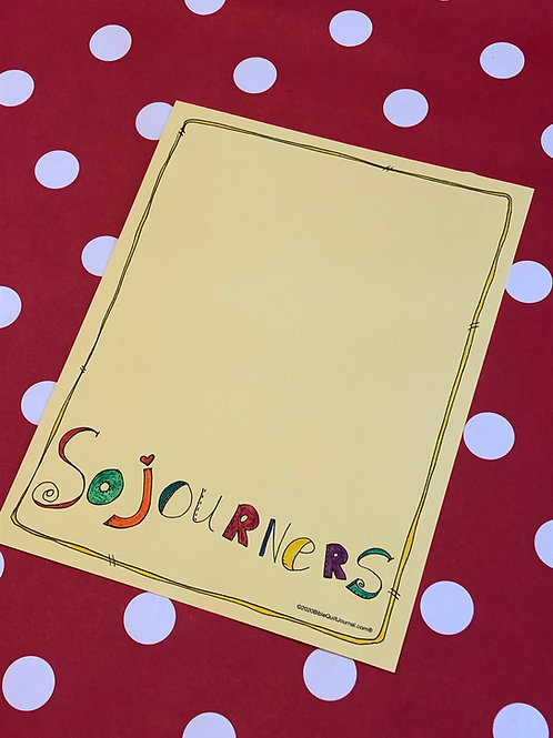 Sojourners (8.5 x 11)