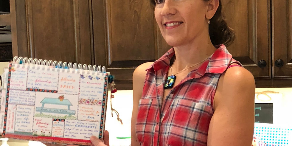 Video Introduction to Bible Quilt journaling