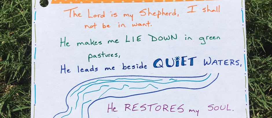 Chasing Quiet: Day 11 - He Leads Me