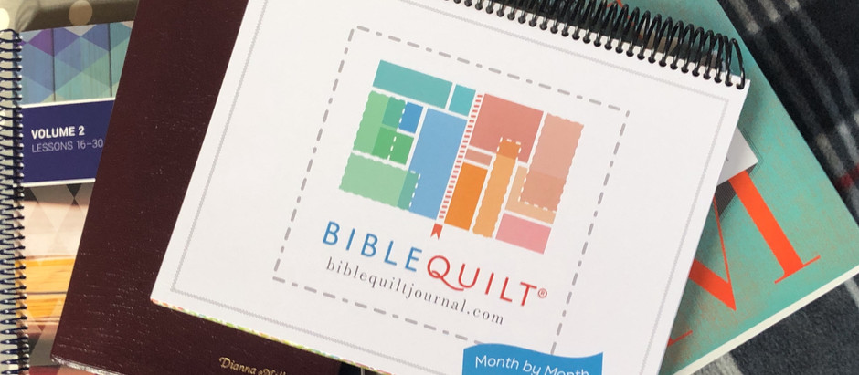 Month-to-Month Bible Quilt Journal
