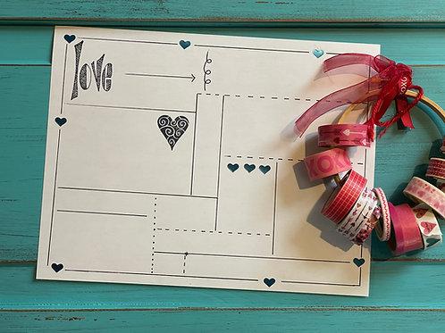 Love is... (1 Corinthians 13) combo set
