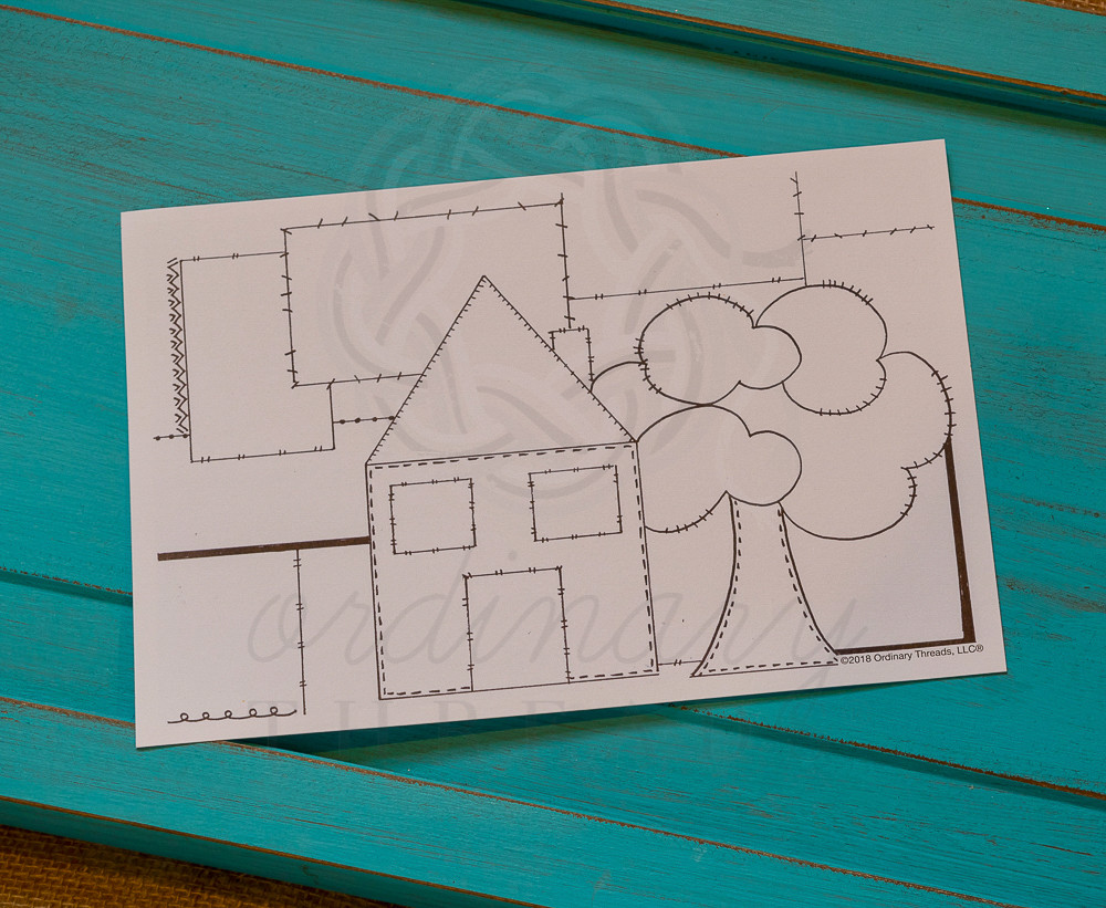 Home template for Bible Quilt journal
